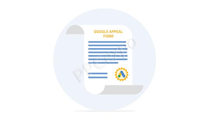google appeal form