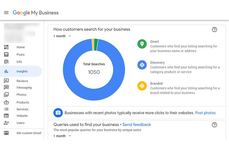 google my business updates