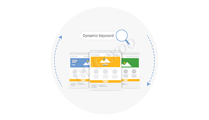 dynamic keyword insertion landing page