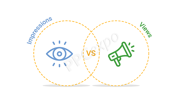 impressions vs. views
