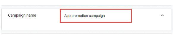 mobile app campaigns