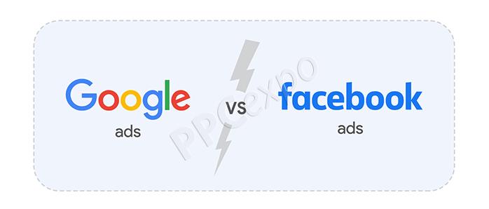 facebook ads versus google ads