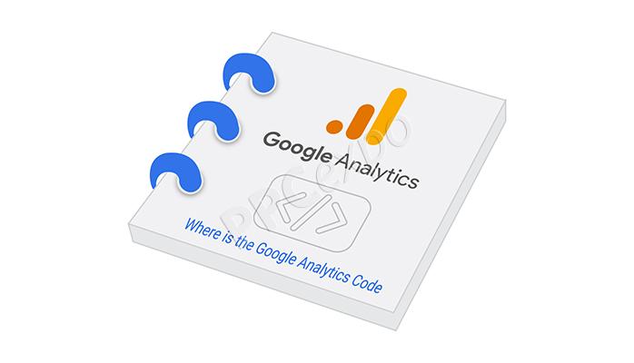 where is the google analytics code