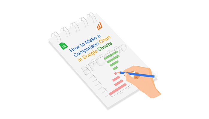how to make a comparison chart in google sheets