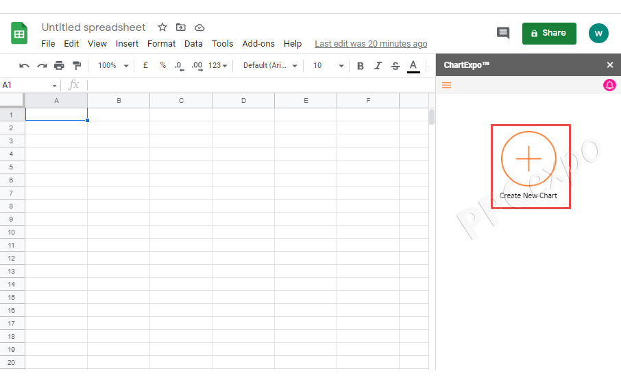Radar Chart Google Sheets
