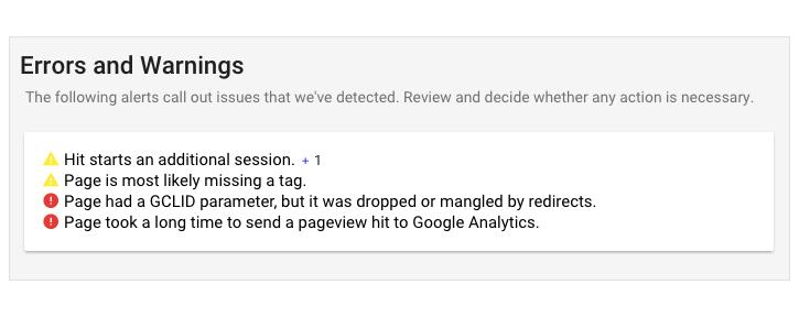 google analytics code example
