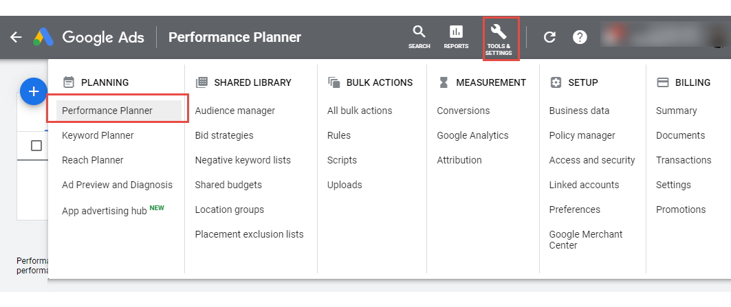 What Can the Performance Planner Assist You With